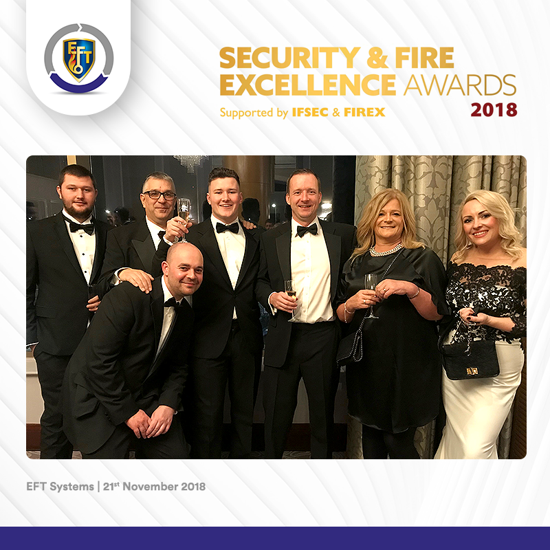 Security & Fire Awards – Result!
