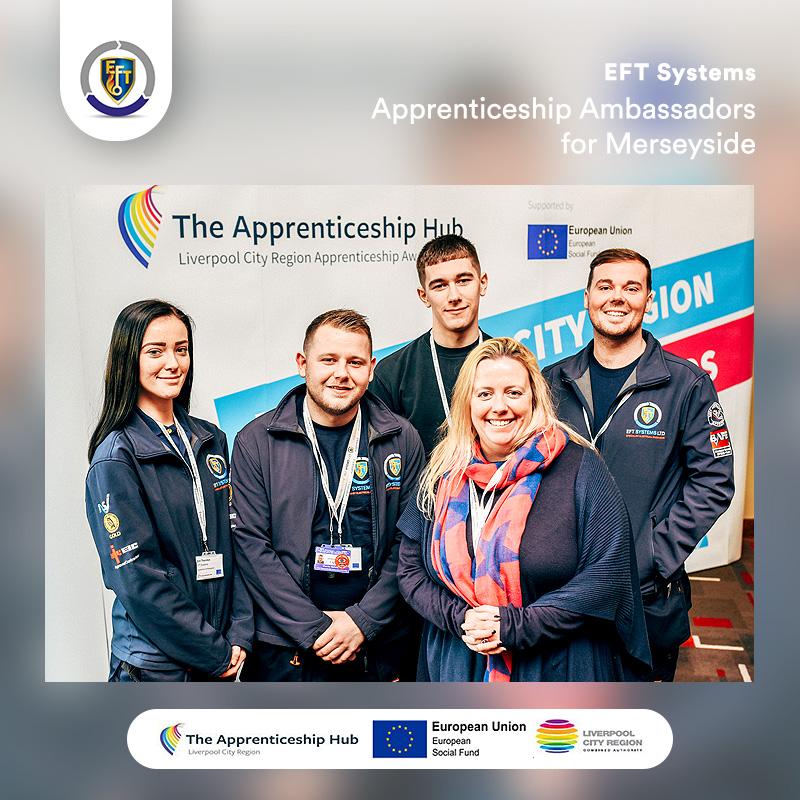 EFT Systems | Apprenticeship Ambassadors for Merseyside