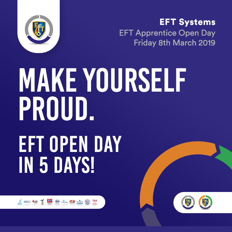 EFT Open Day – 5 days to go!