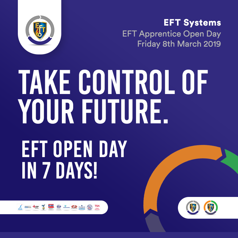 EFT Open Day   7 days to go!