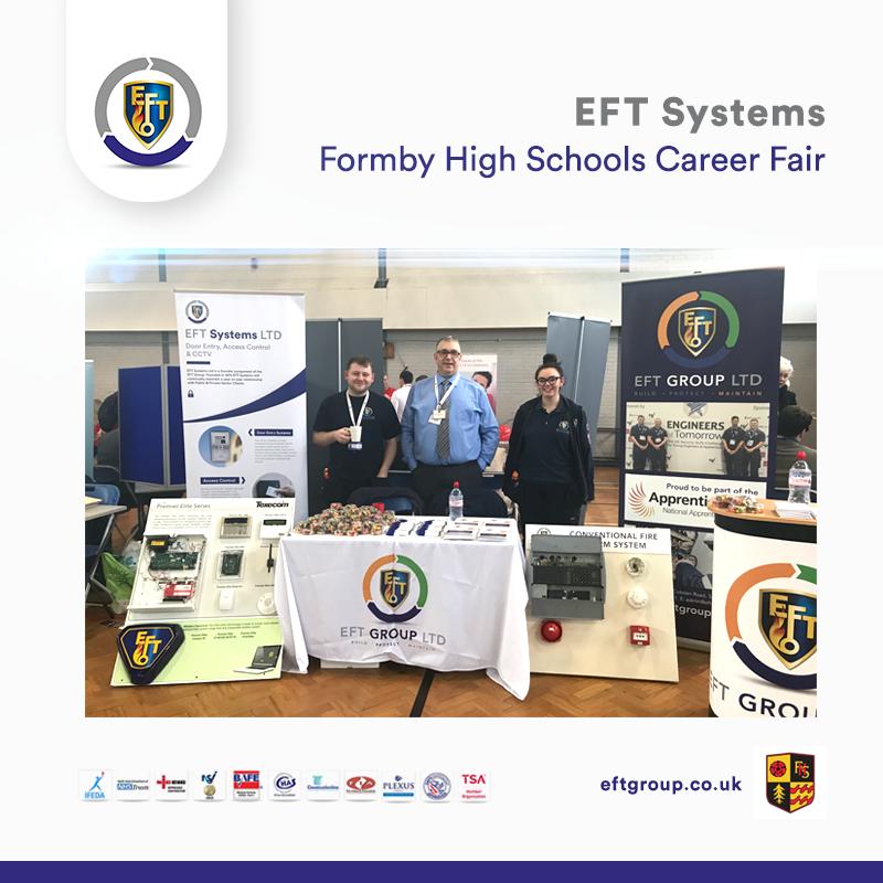 EFT Systems | Formby High Schools Career Fair