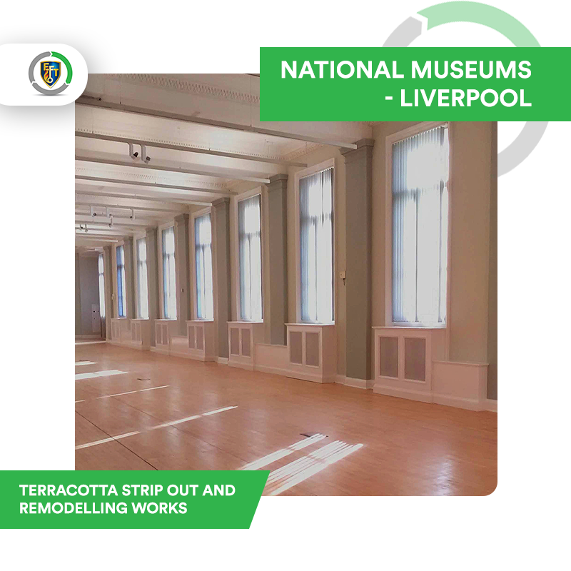National Museums Liverpool – Terracotta Strip Out and Remodelling Works