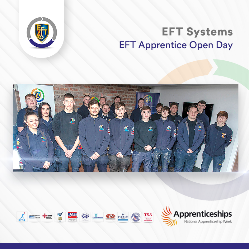 EFT Systems | Apprentice Open Day