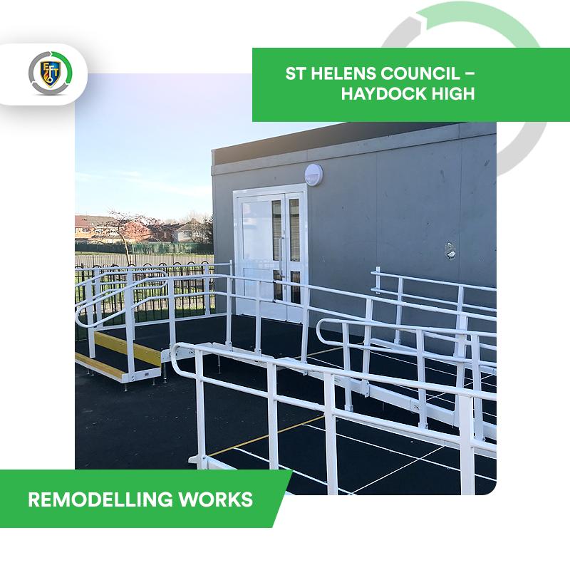 EFT Construction | St Helens Council – Haydock High Remodelling Works
