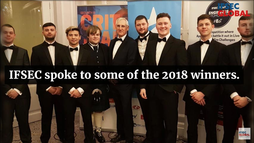 EFT Systems   IFSEC – Engineers Of Tomorrow Winners