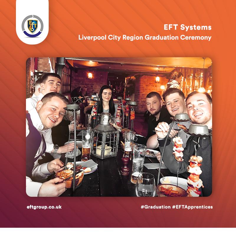 EFT Systems   Liverpool City Region Graduation Ceremony