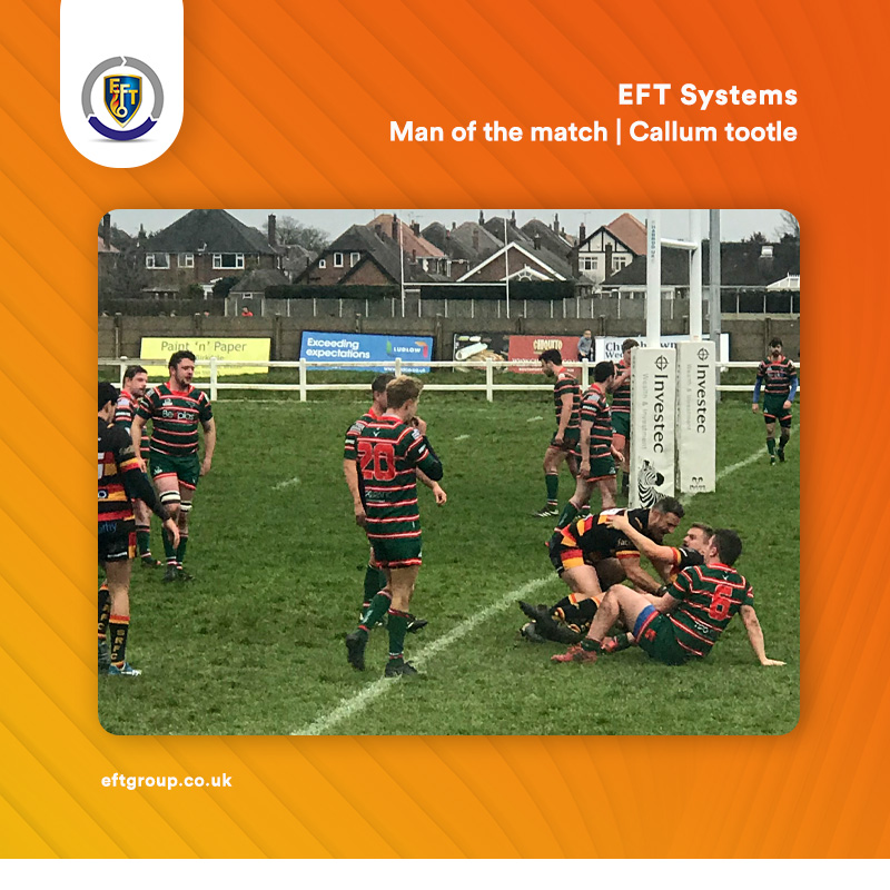 EFT Systems | Man of the match – Callum Tootle
