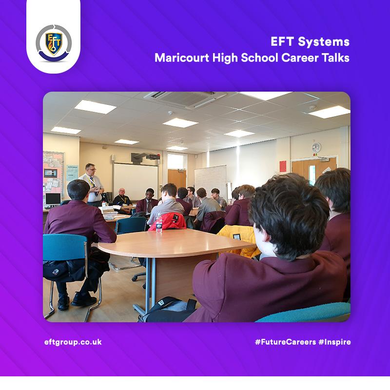 EFT Systems   Maricourt High School Careers Talks