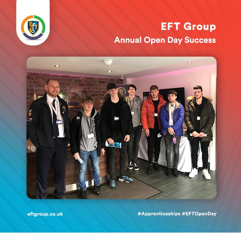 EFT Group   EFT Open Day Success