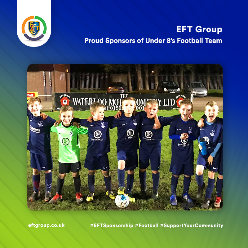 EFT Group | Proud Sponsors of the Under 8's Football Team