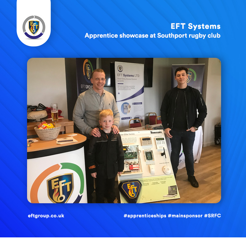 EFT Systems | Apprentice Showcase at Southport Rugby Club