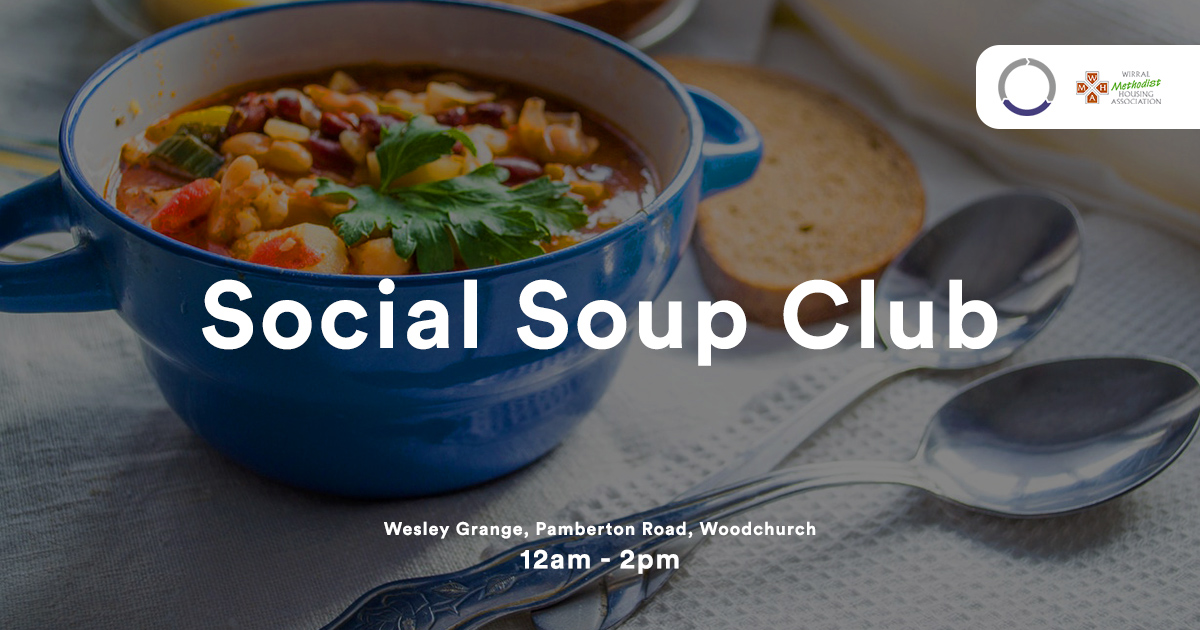EFT Systems | Monthly Social Soup Club with Wirral Methodist Housing Association