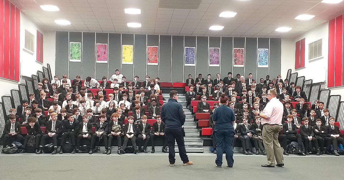 EFT Systems Showcase Apprenticeships at St Margaret's School