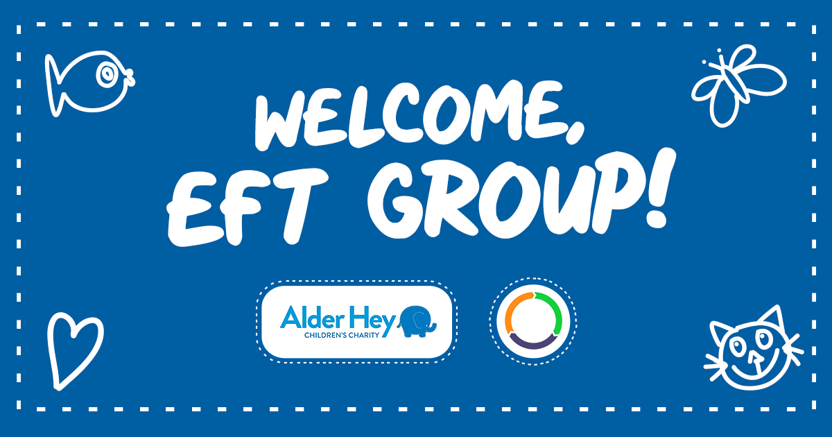 EFT Group earns a place on the Alder Hey major donor board