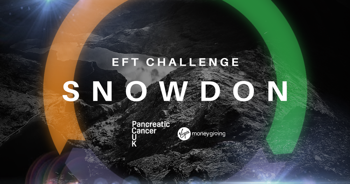 EFT Sponsored Snowdon Walk is on the Horizon! Show your support today!