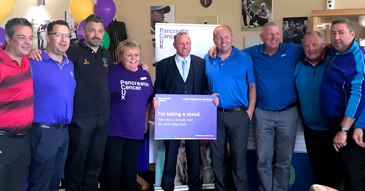 EFT Annual Charity Golf Day 2019 in aid of Pancreatic Cancer UK