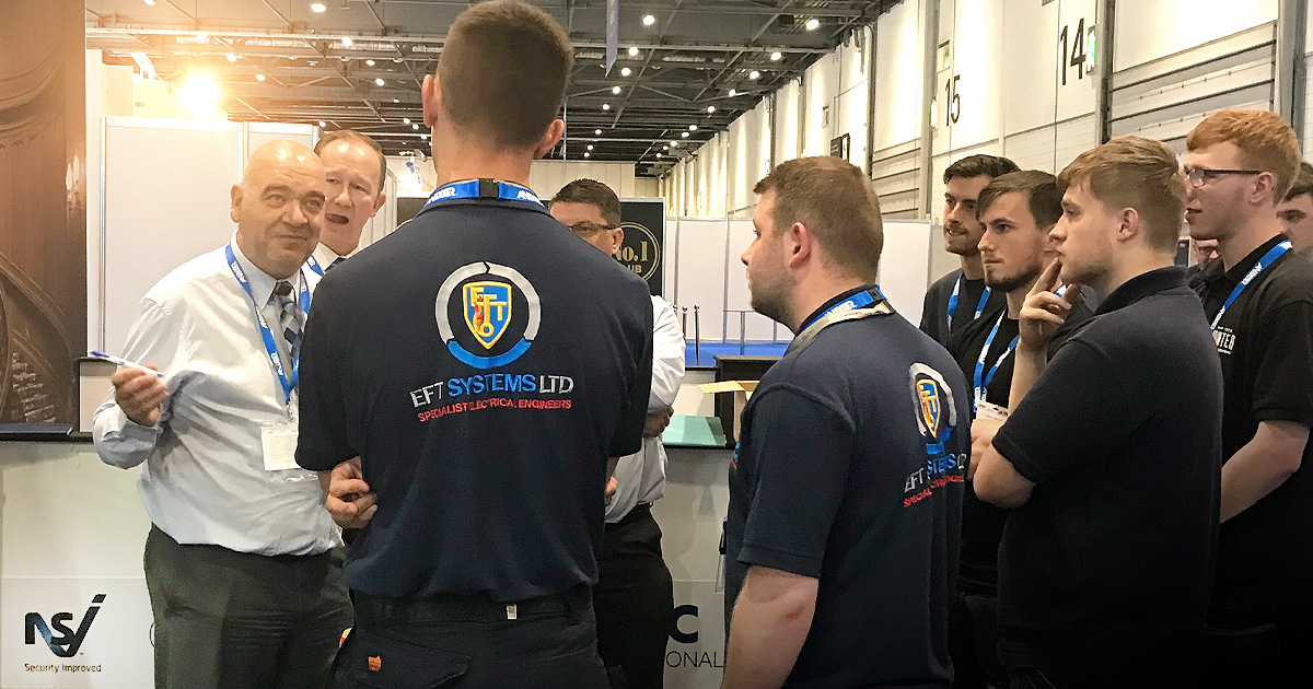Round One of the Engineers of Tomorrow IFSEC 2019 Competition!