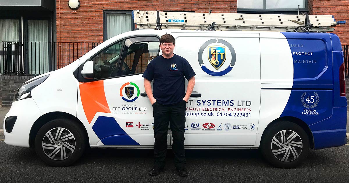 EFT Academy Welcomes Jack for 2 Week Placement to Help Gain Industry Experience