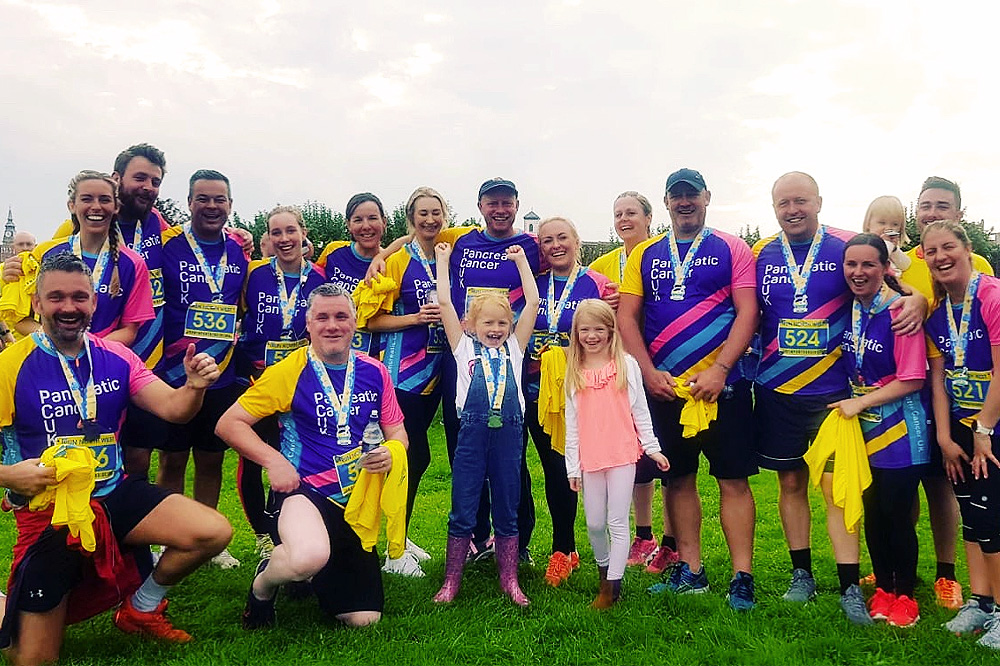 EFT Group Complete Sponsored Seaside 10k Run In Aid Of Pancreatic Cancer UK!