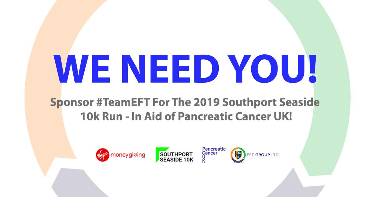 #TeamEFT Take On Sponsored Southport Seaside 10k Run For Pancreatic Cancer UK!