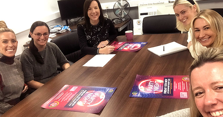 Team EFT Get Together To Plan Charity Night In Aid Of Pancreatic Cancer UK