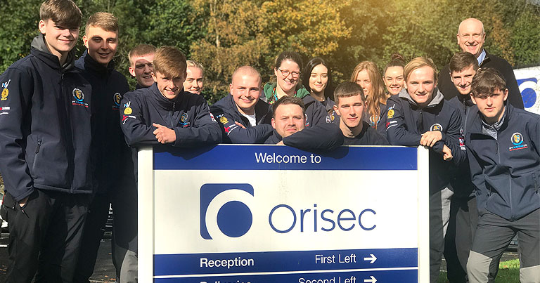 15 EFT Apprentices Had A Fantastic Morning Being Shown Around The Orisec Factory By CEO: Jon Green