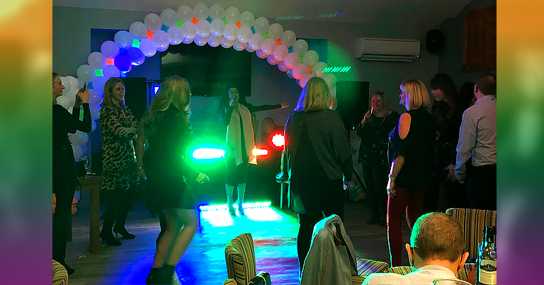 A Fantastic Turnout And Over £1200 Raised In Aid of PCUK At The EFT Party Charity Night!