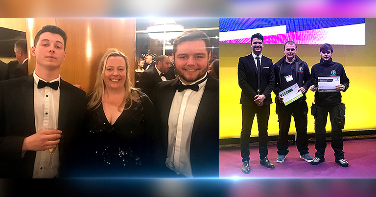 Great Success For Team EFT At The Fire And Security Awards, And World Skills UK Competition!