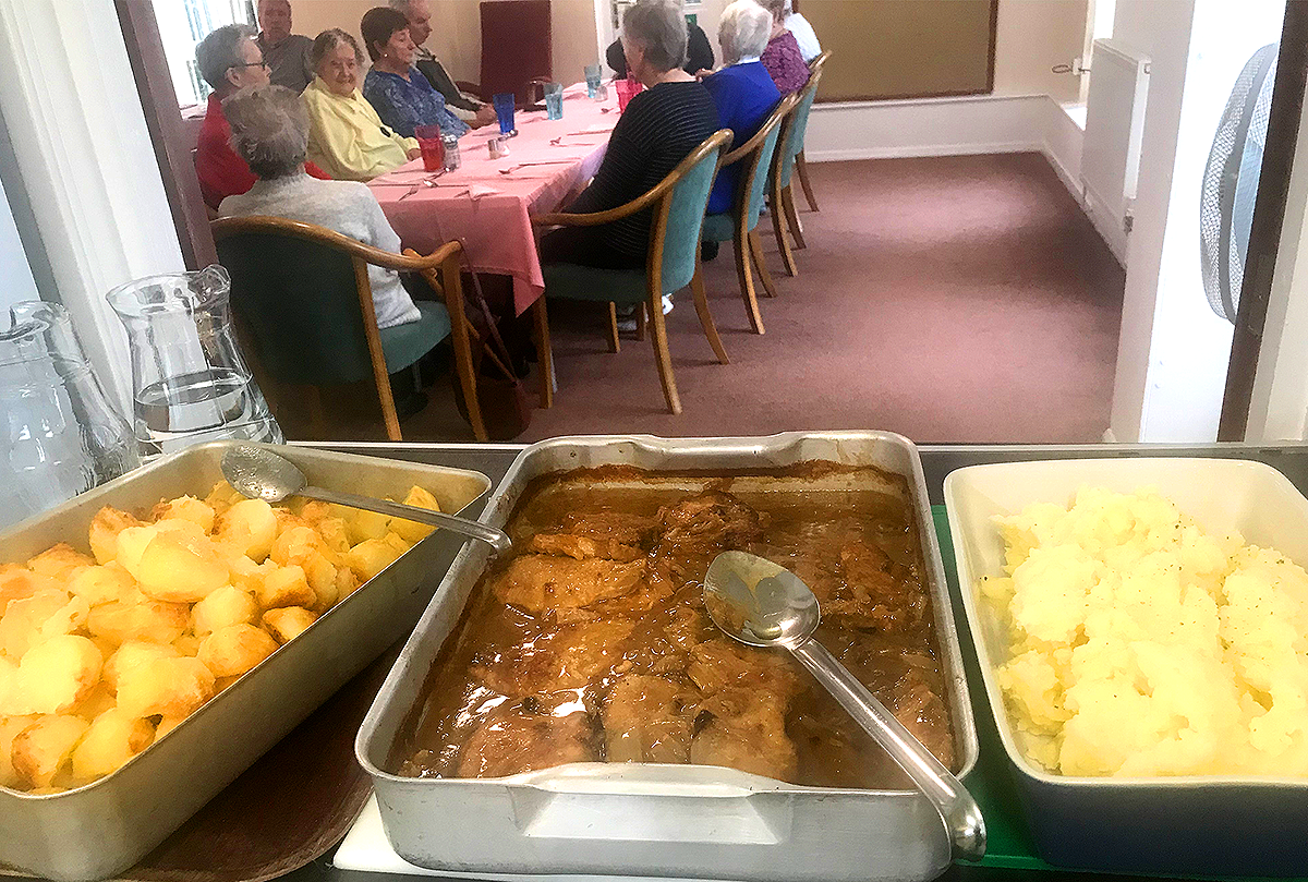 November's Soup Social Was A Sublime Feast As Residents Enjoy A Delicious Hot Meal Together