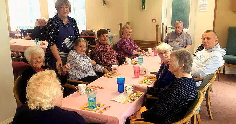 October Soup Social Went Down A Treat As Residents Enjoy Socialising Over Delicious Cottage Pie!
