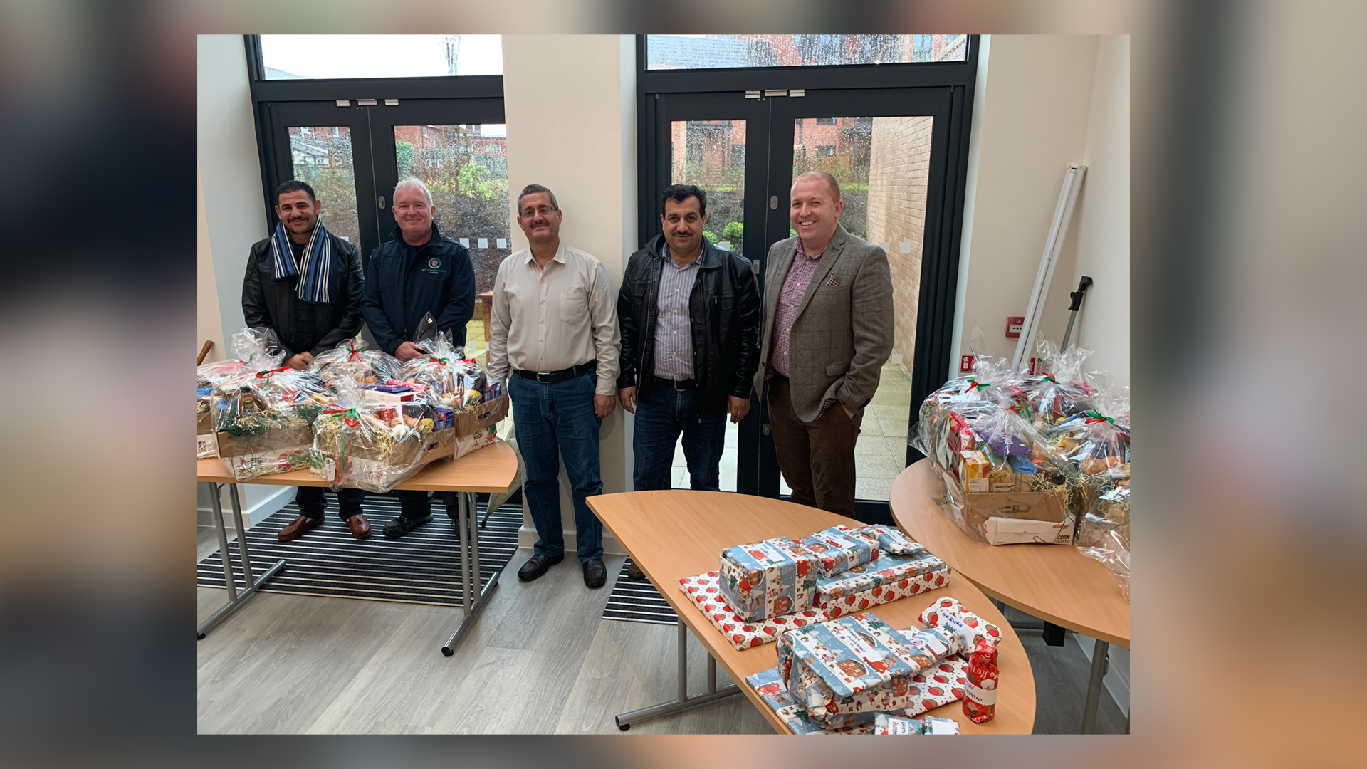 EFT Construction Kindly Donate Hamper Packs For Syrian Families This Christmas Season!