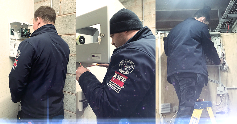 Cohort 2 Learning The Basics Of Commissioning Bespoke Electronic Fire & Security Systems At EFT