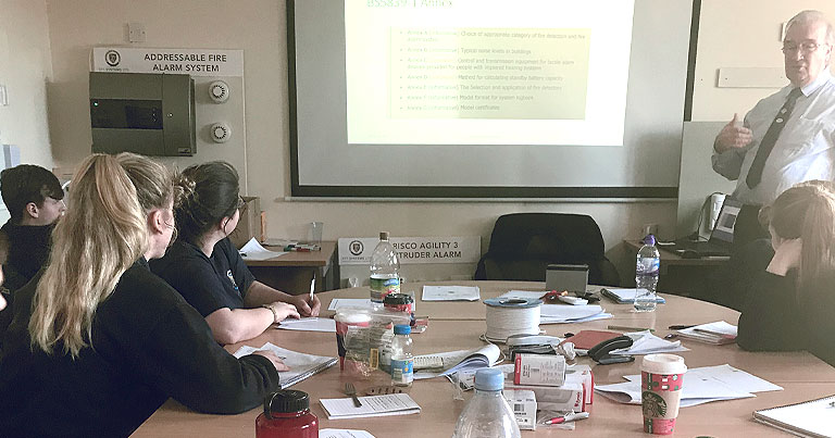 Cohort 3 Learning Introduction To Detection At EFT HQ