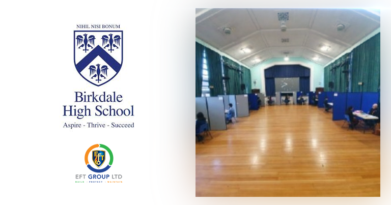 EFT Director Jordan Was Helping To Conduct More Mock Interviews At Birkdale High In December