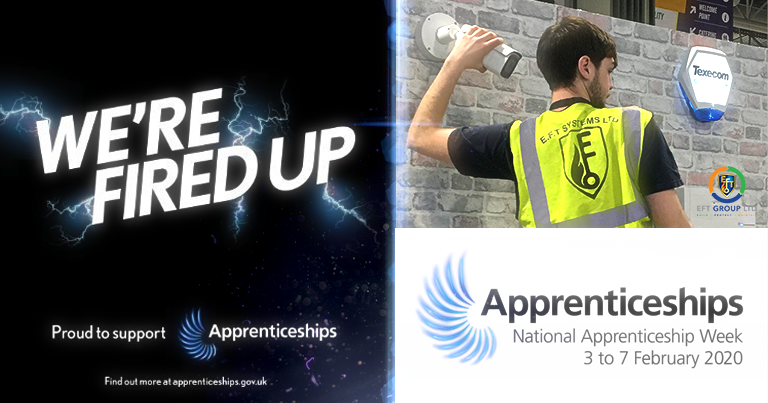 EFT we are proud to be supporting National Apprenticeship Week this week: 3rd – 7th Feb 2020