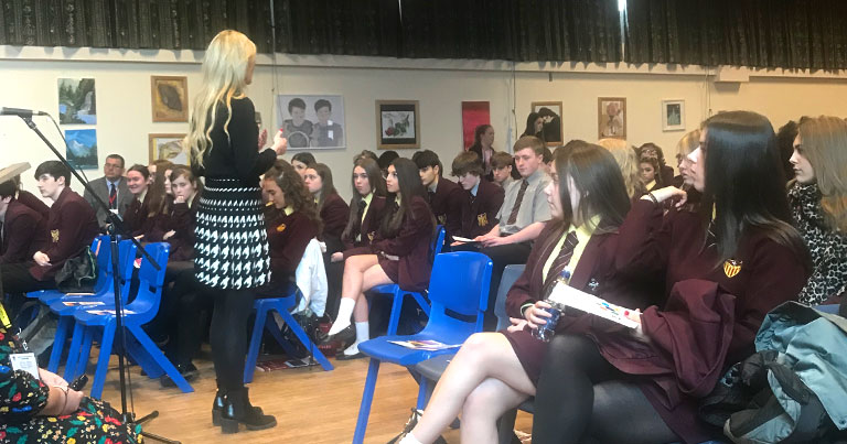 EFT Visited Maricourt High School Yesterday Speaking To 250 Students About Apprenticeship Opportunities With EFT Group
