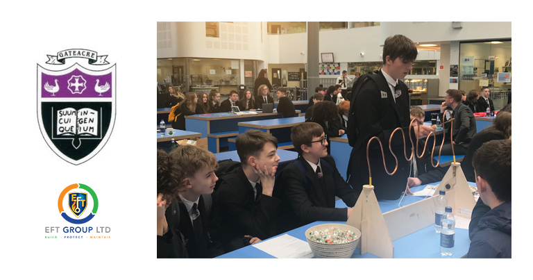 EFT Apprentices Visited Gateacre School In Liverpool Last Week To Talk About Apprenticeships To Year 9 Students