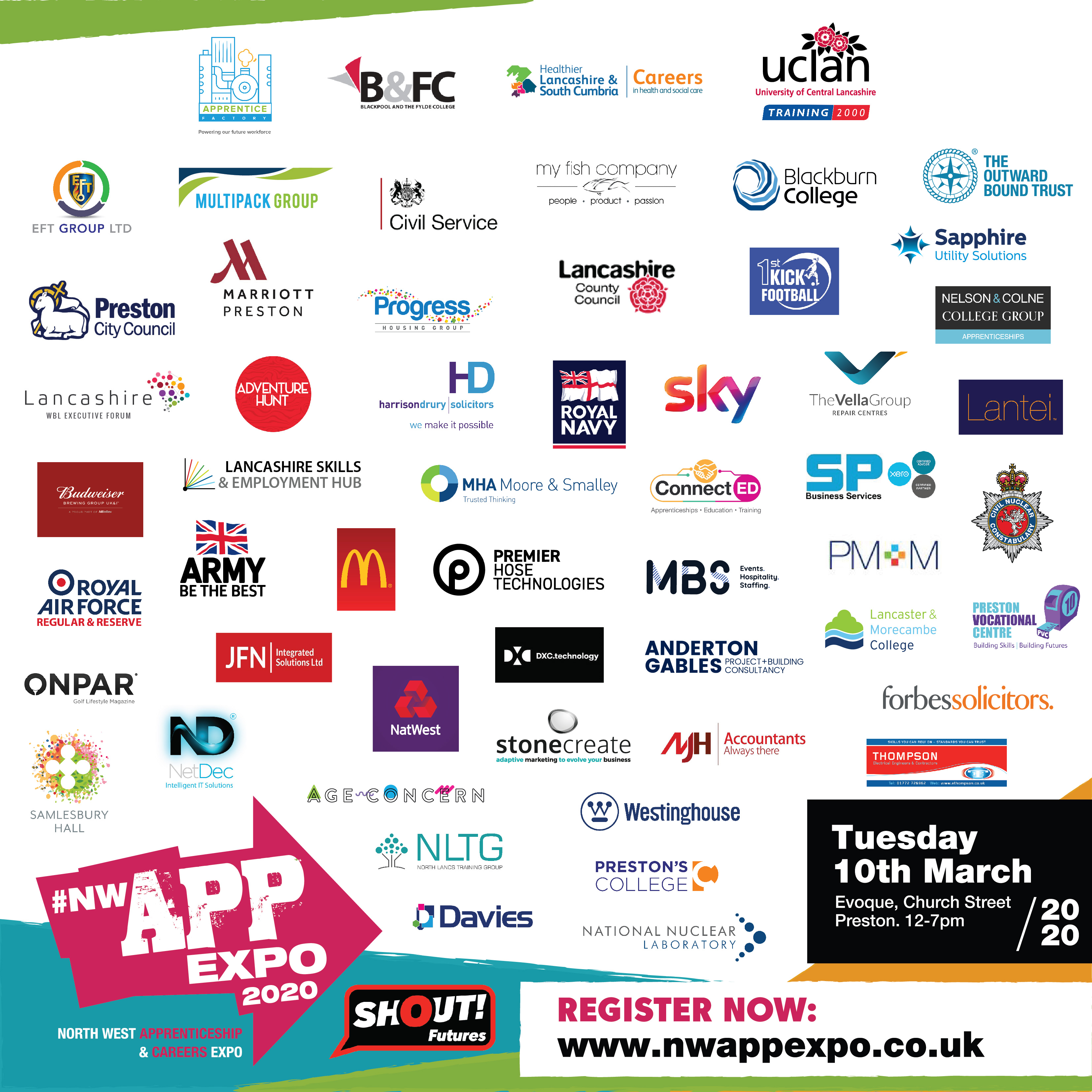 EFT Will Be At The Lancs Apprentice Expo Next Week – 10th March 2020